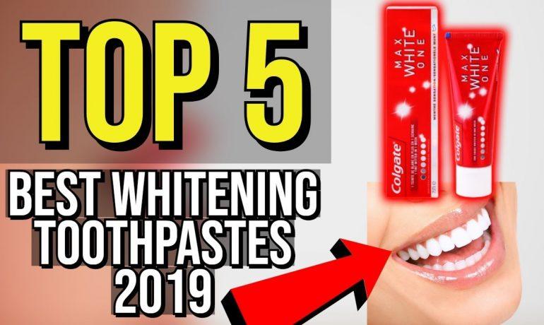 ✅ TOP 5: Best Whitening Toothpaste 2019