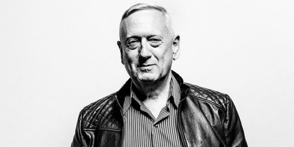 former-defense-secretary-jim-mattis-made-his-modeling-debut-wearing-a-1500-kangaroo-leather-jacket