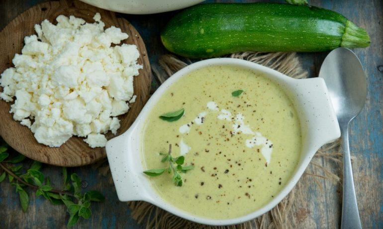 Cream of Zucchini Soup (Keto | Low-Carb)