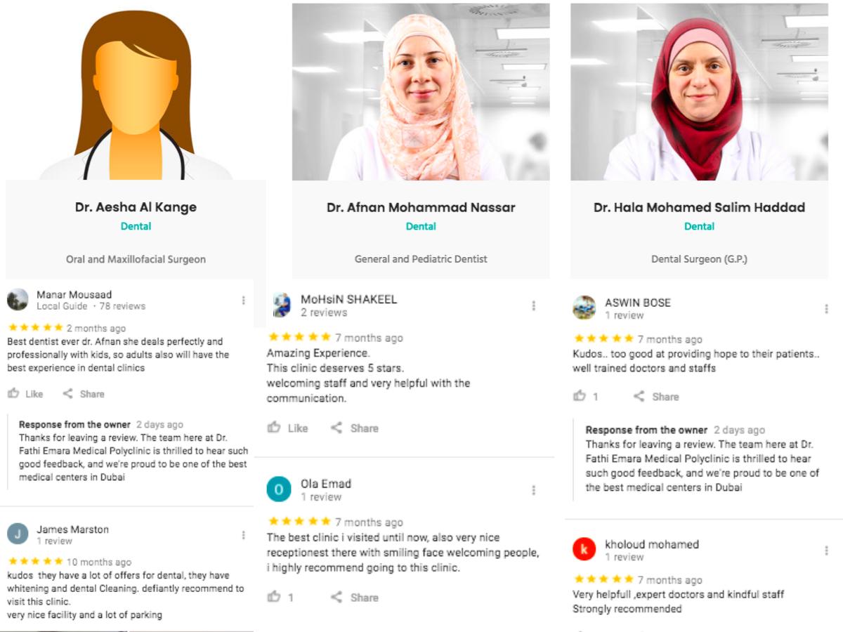 Dentists in Mirdif - Dr. Fathi Emara Medical Polyclinic