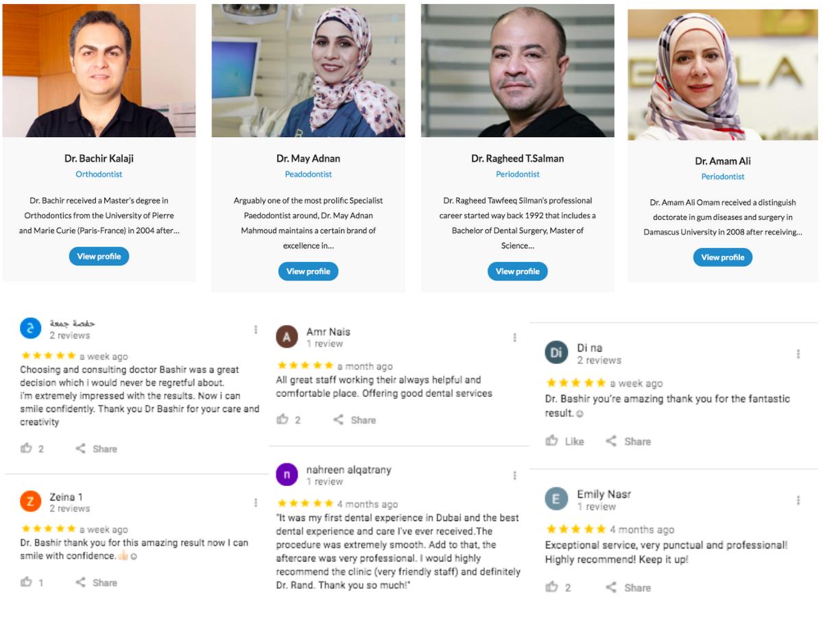 Best Dentists in Mirdif, Dubai